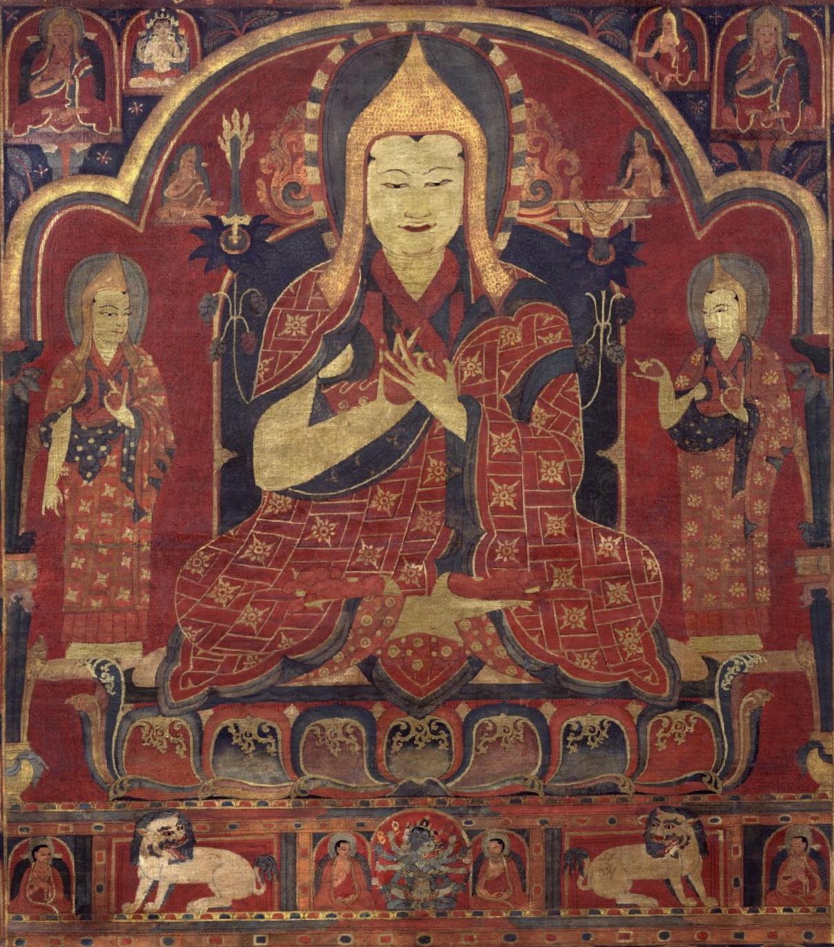 595 tsongkhapa